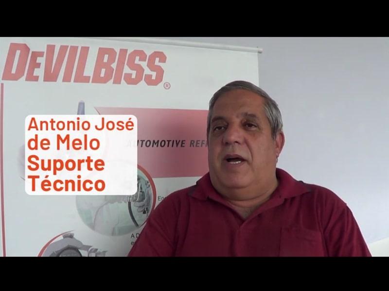 Antonio José de Melo: DeVilbiss representa tudo para mim