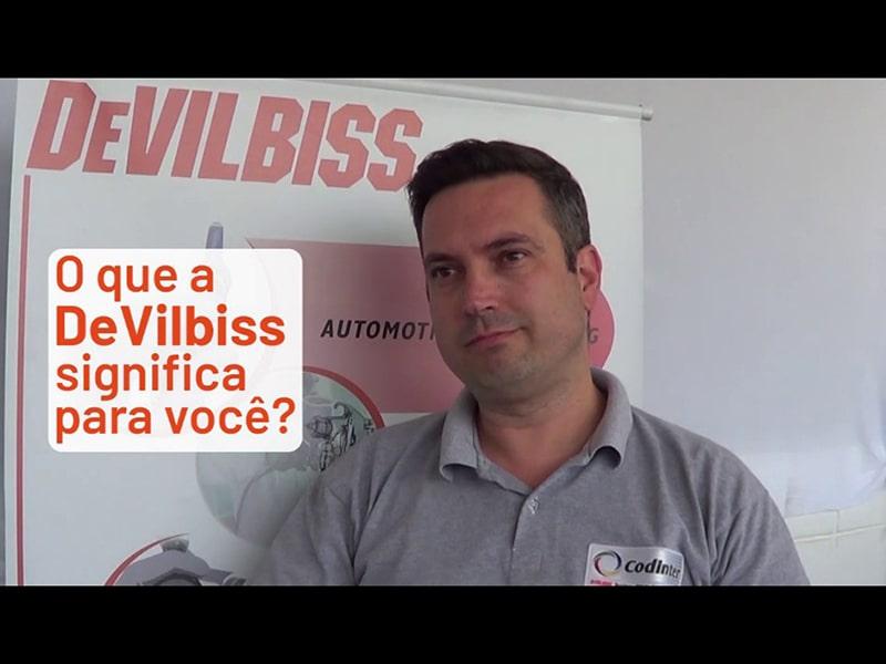 Bruno Ruiz: DeVilbiss são equipamentos de óptima tecnología