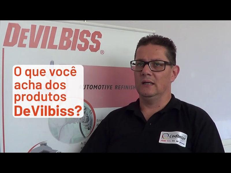 Fábio Martínez: DeVilbiss são produtos de excelente qualidade