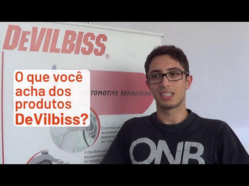 Guillerme Santis: DeVilbiss é uma marca muito consistente