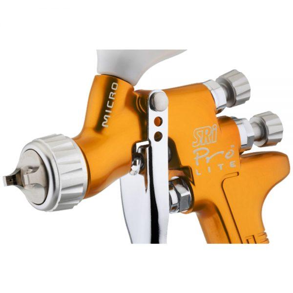 Pistola de Pintura HVLP-Transtec Gravidade DeVilbiss SRi Pro Lite