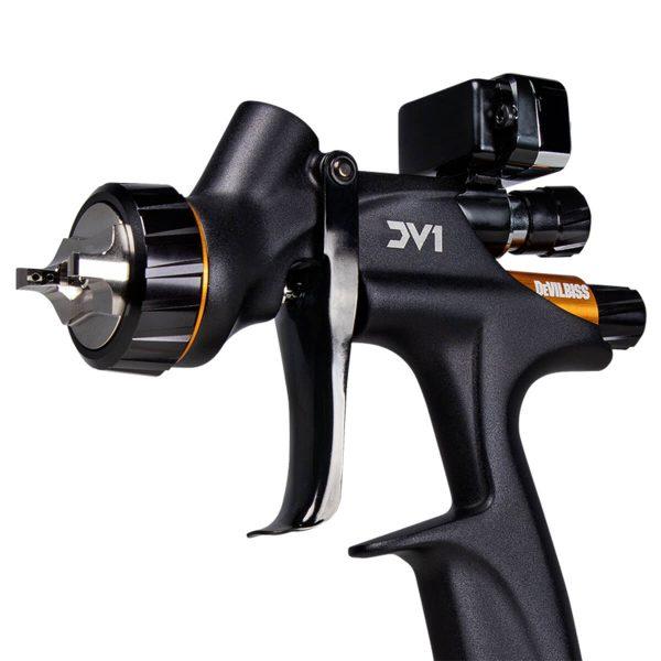 Pistola de Pintura HVLP Gravidade DeVilbiss DV1 Verniz