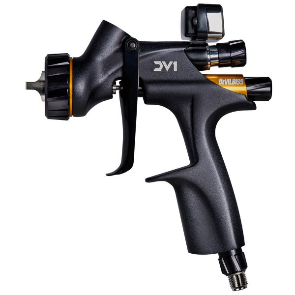 Pistola de Pintura HVLP Gravidade DeVilbiss DV1 Clear Coat