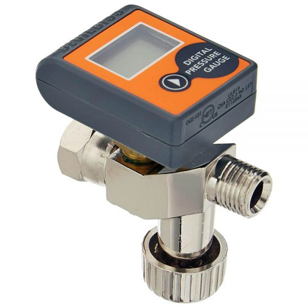 Válvula de Ajuste de Ar com Manômetro Digital HAV-555